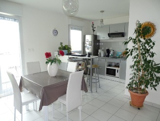 vente appartement LA SALVETAT SAINT-GILLES 2 pieces, 51m2